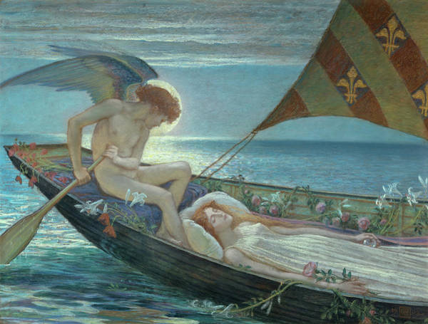 Wall Art - Painting - A Dream, 1902 by Walter Crane