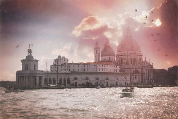 Venezia Photograph - A Dreamy Vision Of Venice Italy  by Carol Japp