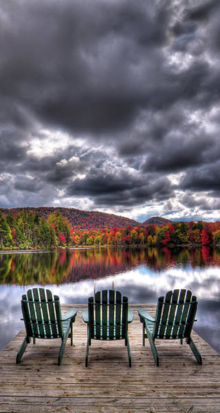 Photograph - A Fall Day On West Lake by David Patterson