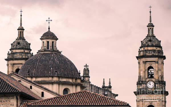 Historic Monument Wall Art - Photograph - A Famous Cathedral In Bogota, Colombia by David Antonio Lopez Moya