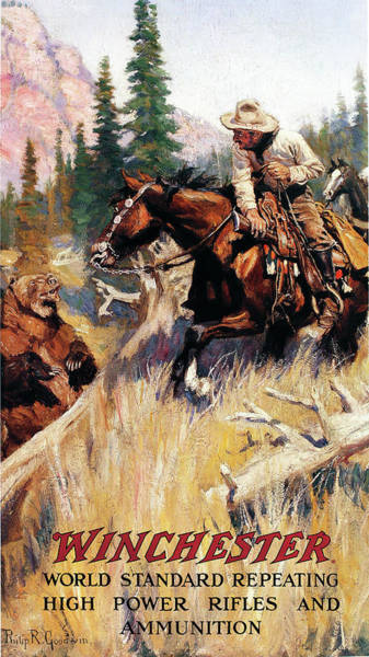 Wall Art - Painting - A Fighting Chance by Philip R Goodwin