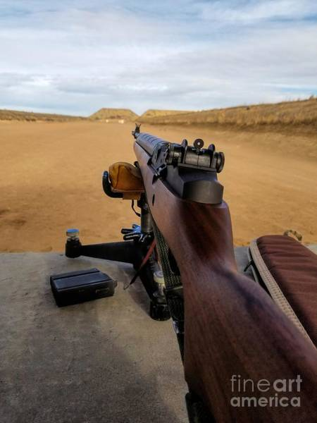 Photograph - A Fine Day At The Range by Jon Burch Photography