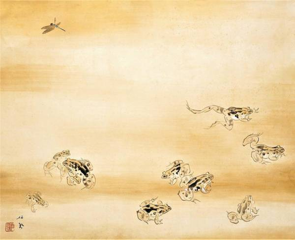 Wall Art - Painting - A Fine Day During The Rainy Season - Digital Remastered Edition by Takeuchi Seiho