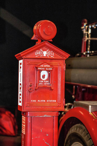 Wall Art - Photograph - A Fire Call Box by William Rogers