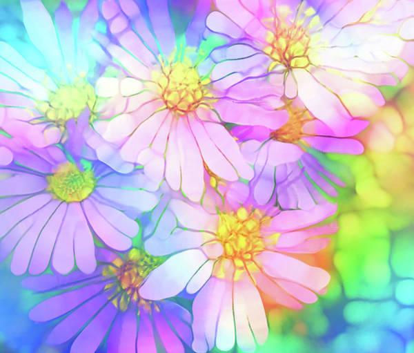 Digital Art - A Flower Calm by Tara Turner