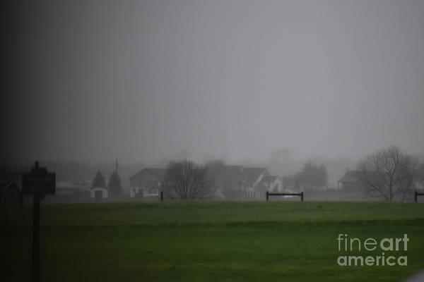 Photograph - A Foggy Spring Evening by Christine Clark