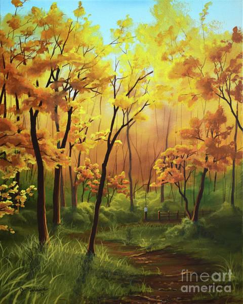 Painting - A Forgotten Trail by Joe Mandrick