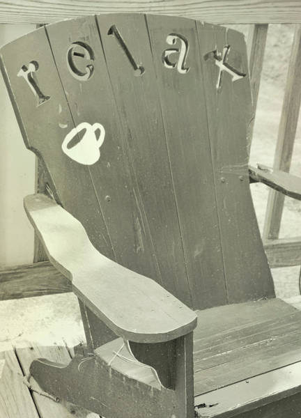Photograph - A Good Chair by Jamart Photography