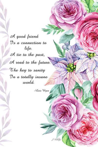 Mixed Media - A Good Friend - Kindness  by Jordan Blackstone