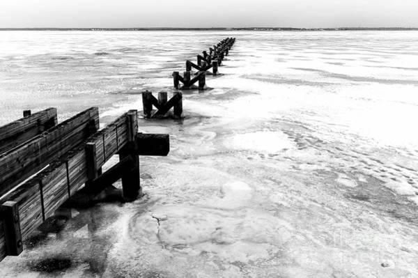 Wall Art - Photograph - A Harsh Winter At Seaside Park by John Rizzuto