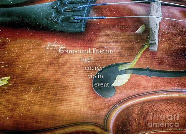 A High Engery Violin Event  Art Print by Steven Digman