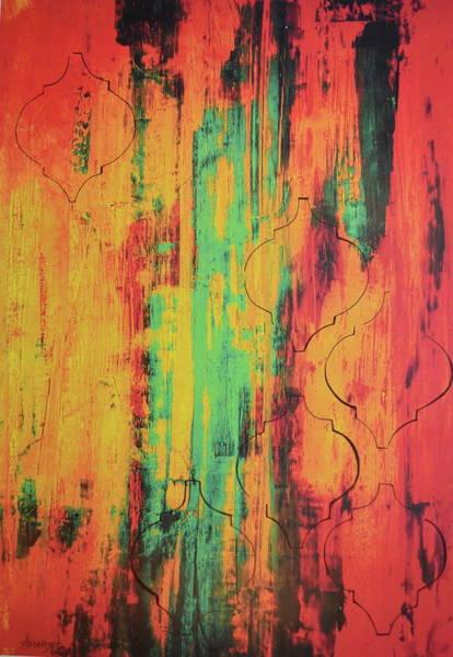 Avondet Wall Art - Painting - A Hint Of Design by Natalie Avondet