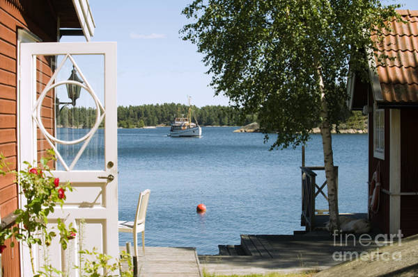 A House In Stockholm Archipelago, Sweden Art Print