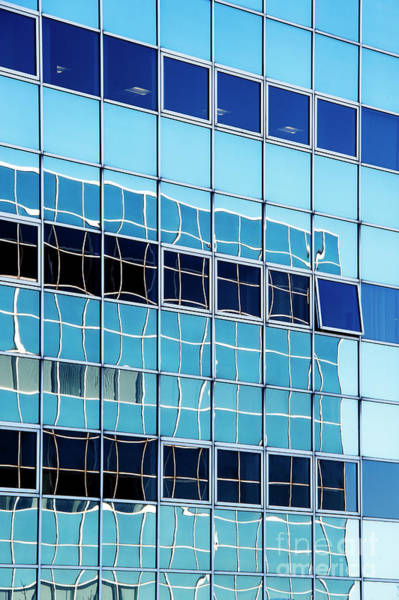 Window Pane Photograph - A Hue Of Blue by Tim Gainey
