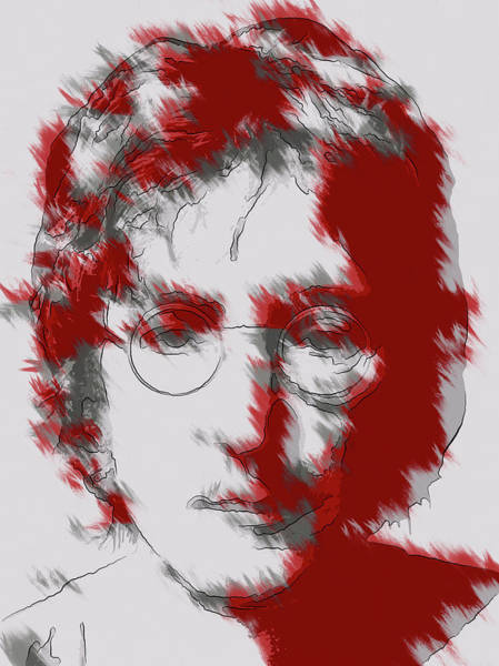 Wall Art - Digital Art - A. I. Lennon by Daniel Hagerman