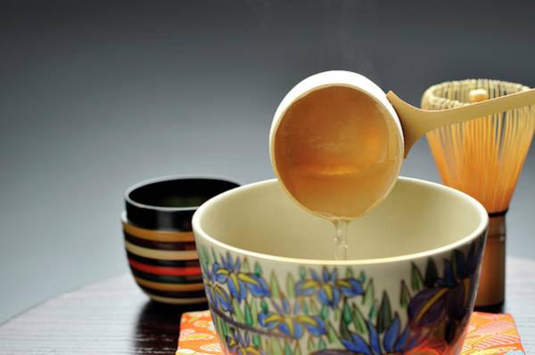 Pouring Digital Art - A Japanese Tea Ceremony by Yagi Studio