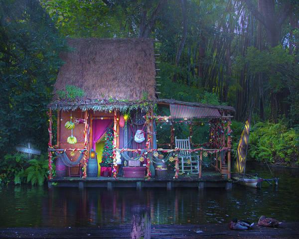 Adventureland Photograph - A Jungle Cruise Holiday by Mark Andrew Thomas