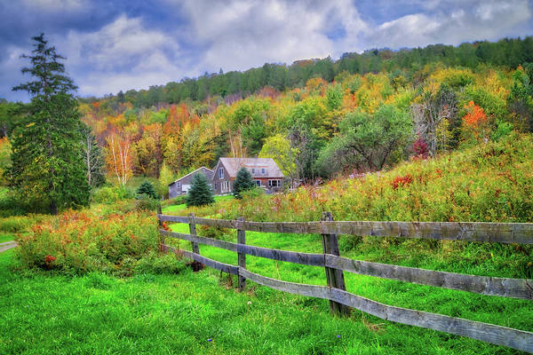 Photograph - A Kaleidoscope Of Fall Colors In The Finger Lakes by Lynn Bauer