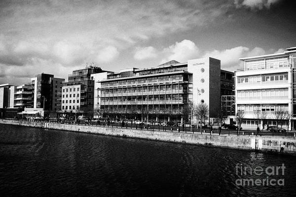 Wall Art - Photograph - a l goodbody corporate law firm offices headquarters ifsc north wall quay north wall dublin 1 Dublin by Joe Fox