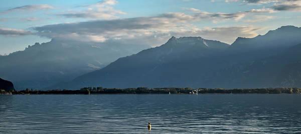 Wall Art - Photograph - A Lake Geneva Evening - Pano by Phyllis Taylor