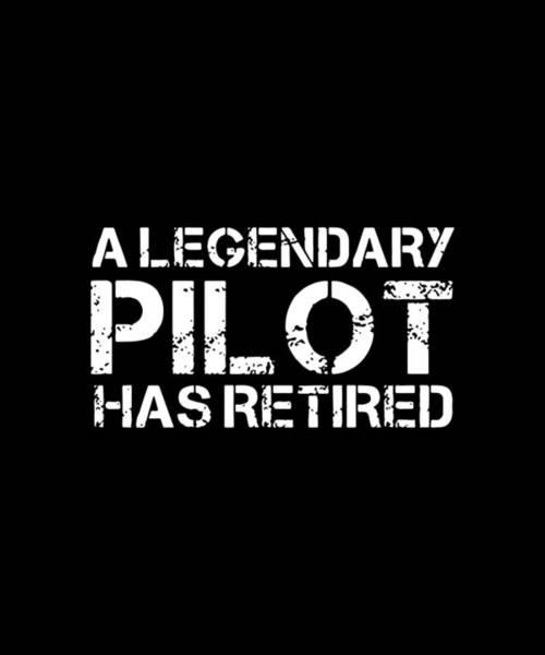 War Bonds Digital Art - A Legendary Pilot Has Retired Veteran by Caleb Hardacre