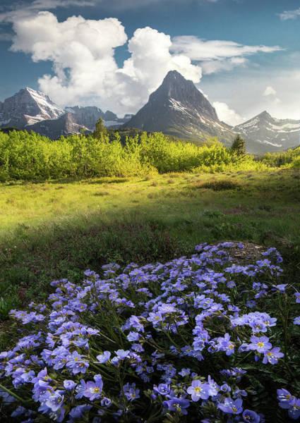 Photograph - A Little Bit Of Heaven / Many Glacier, Glacier National Park  by Nicholas Parker