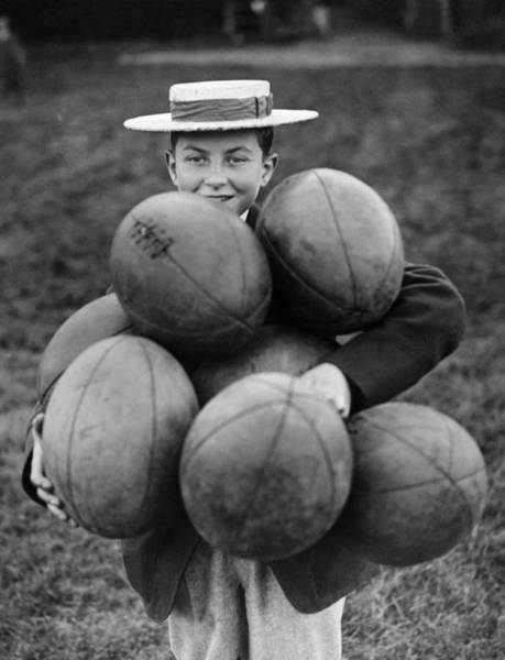 Ball Photograph - A Load Of Balls by Fox Photos
