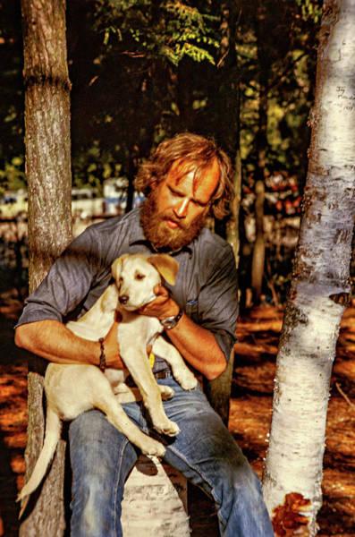Wall Art - Photograph - A Man And His Dog 2 by Steve Harrington