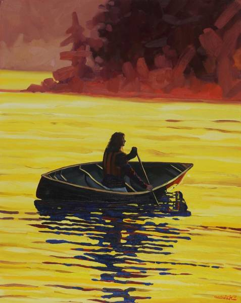 Painting - A Mattawa Morning by Phil Chadwick