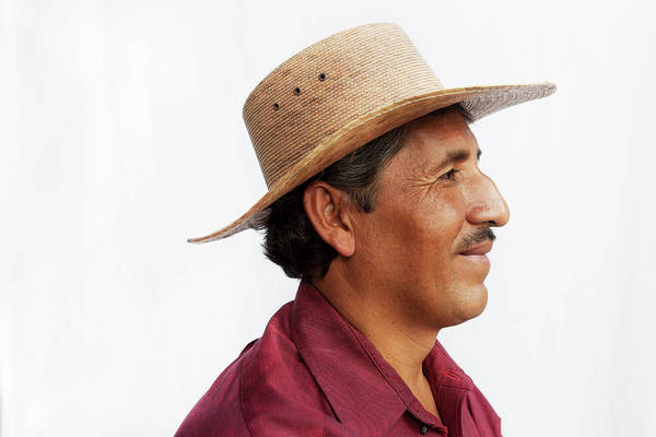 Sun Hat Photograph - A Mexican Man by Russell Monk
