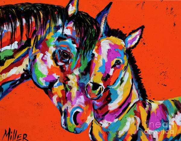 Wall Art - Painting - A Mothers Love by Tracy Miller