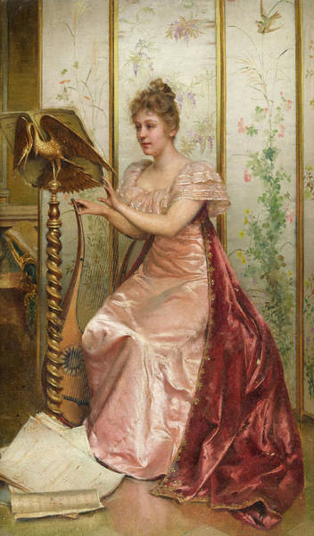 Wall Art - Painting - A Musical Moment by Frederic Soulacroix