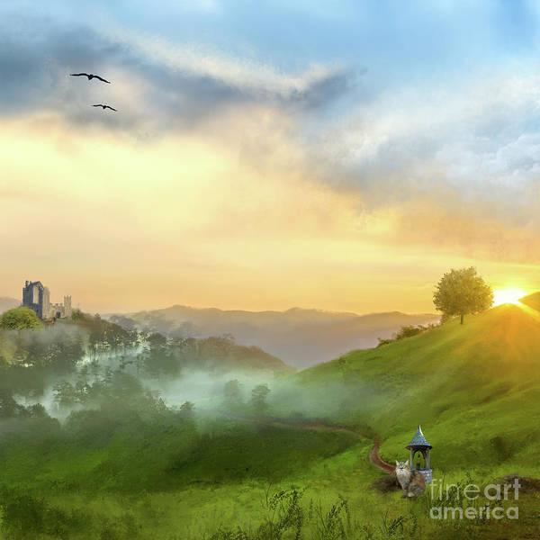 Digital Art - A New Dawn by Anne Vis