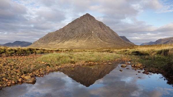 Photograph - A New Day Starts In Glencoe by Stephen Taylor