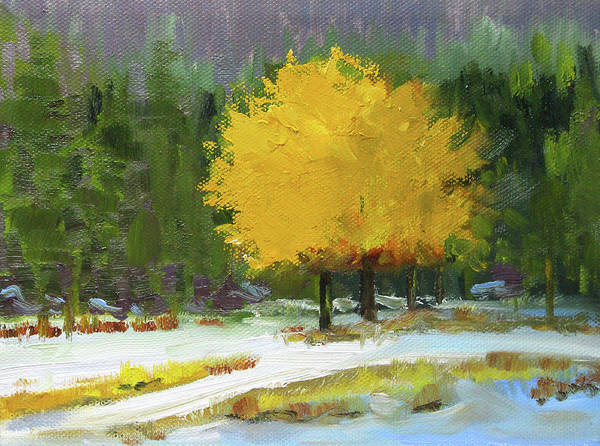 Painting - A New Season by Nancy Merkle