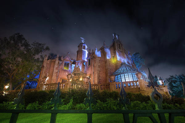 Wall Art - Photograph - A Night In The Haunted Mansion by Mark Andrew Thomas