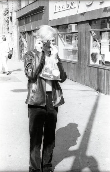 Photograph - A Photo By Andy Warhol by Fred W. McDarrah