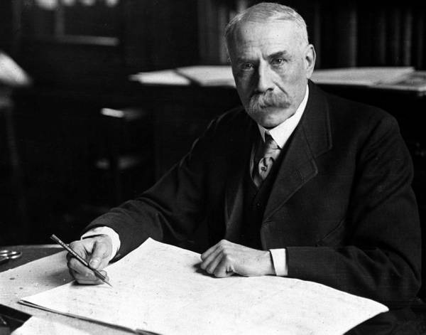 Composer Photograph - A Picture Of Edward Elgar 1857-1934 by Popperfoto