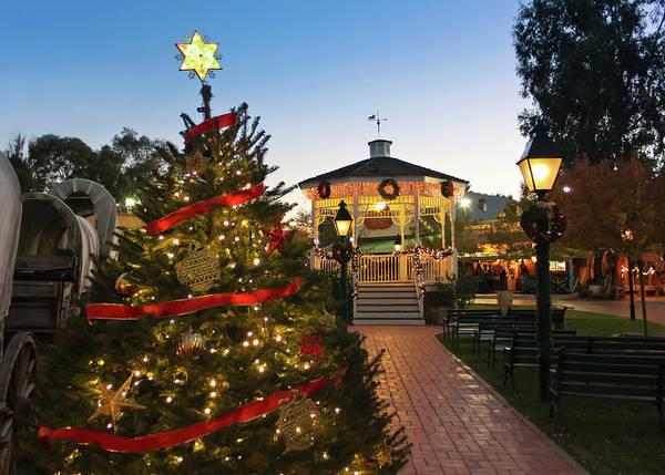 Wall Art - Photograph - A Pinnacle Peak Christmas Scene, Tucson, Arizona by Derrick Neill
