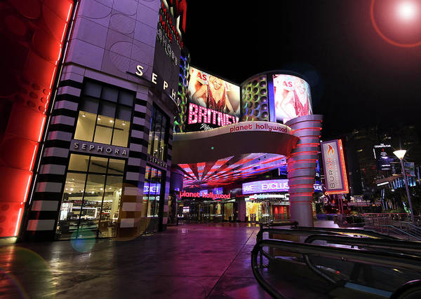Sephora Wall Art - Photograph - A Planet Hollywood Las Vegas Resort And Casino by Derrick Neill
