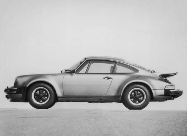 Cylinder Photograph - A Porsche by Hulton Archive
