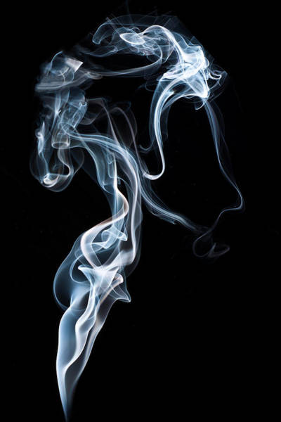Photograph - A Portrait In Smoke by Steve Purnell