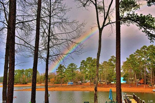 Photograph - A Pot Of Gold On Lake Murray South Carolina by Lisa Wooten