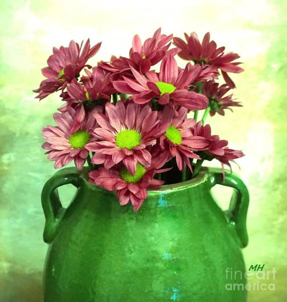 Wall Art - Photograph - A Pottery Of Daisies by Marsha Heiken