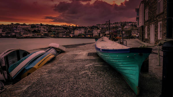 Photograph - A Quiet Moment - Cornwall by Eddy Kinol