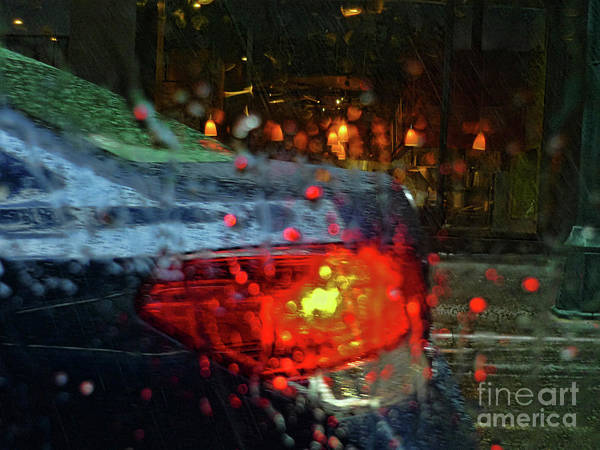 Photograph - A Rainy Day In Nyc by Jeff Breiman