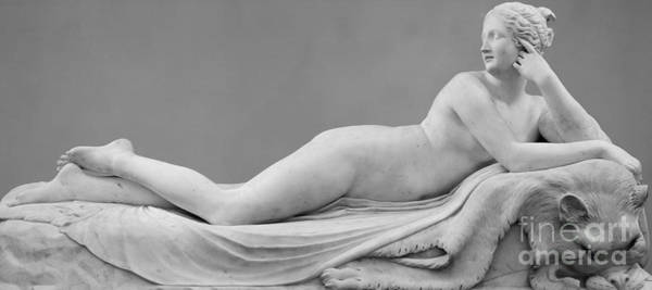 Wall Art - Sculpture - A Reclining Naiad by Antonio Canova