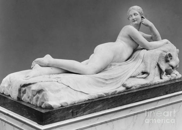 Wall Art - Sculpture - A Reclining Naiad By Canova by Antonio Canova