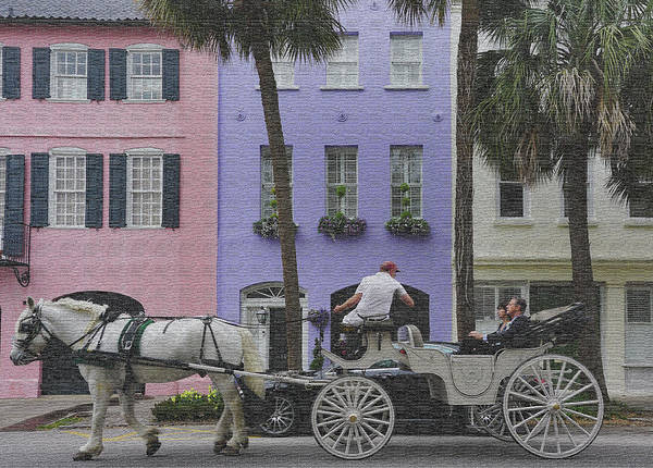 Photograph - A Ride In Charleston by Silvia Marcoschamer