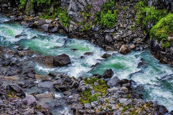 Wall Art - Photograph - A River Running  by Edward Garey